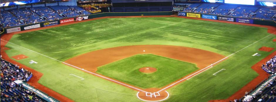 Tampa Bay Rays, St Petersburg FL